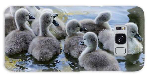 Swan Babies Galaxy Case by Michael Mogensen
