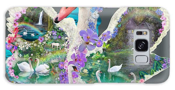 Majestic Galaxy Case - Swan Day Dream by MGL Meiklejohn Graphics Licensing