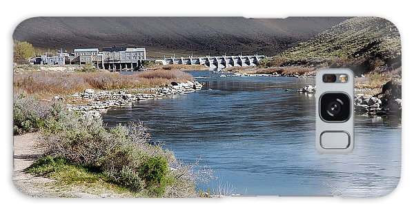 945a Swan Falls Dam Snake River Birds Of Prey Area Galaxy Case
