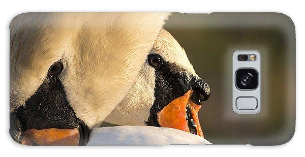 Swan Heads Galaxy Case by Michael Mogensen