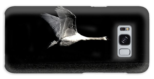 Swan In The Night Galaxy Case