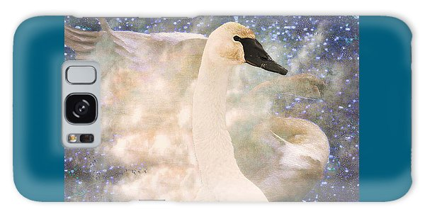 Swan Journey Galaxy Case
