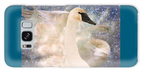 Swan Journey Galaxy Case