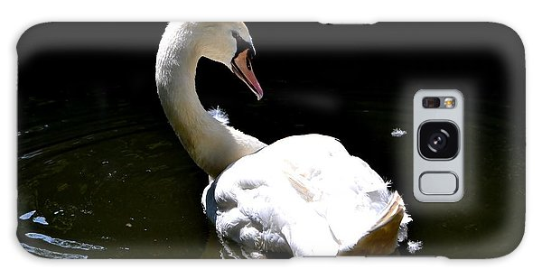 Swan Lake Galaxy Case by Deena Stoddard