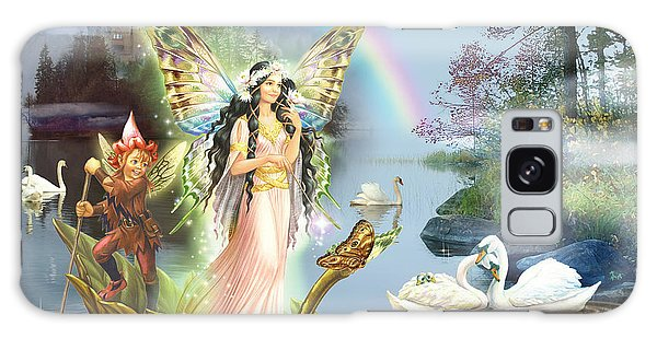 Swan Boats Galaxy Case - Swan Lake Fairy by MGL Meiklejohn Graphics Licensing