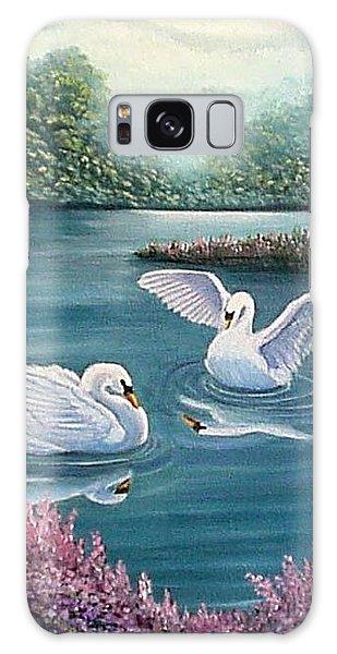 Swan Lake Serenity Galaxy Case