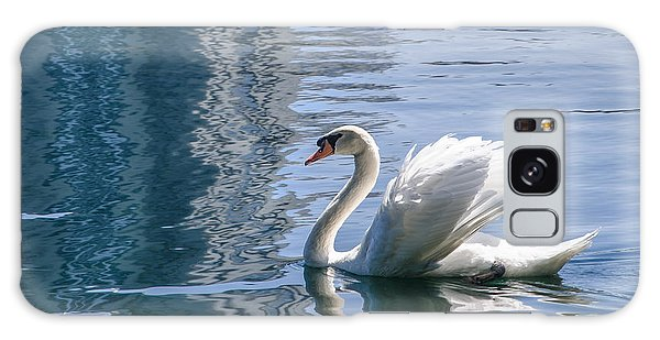 Swan Galaxy Case by Steven Sparks