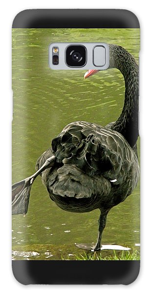 Swan Yoga Galaxy Case