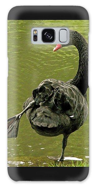 Swan Yoga Galaxy Case