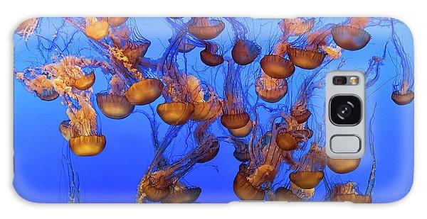 Pacific Ocean Galaxy Case - Swarm Of Jellyfish by Fred Walker