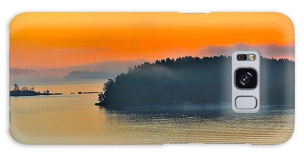 Swedish Sunrise Galaxy Case by Marianne Campolongo
