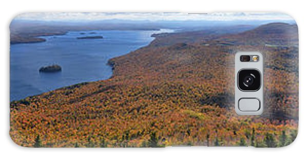 Sweeping Fall Panorama Over Lake Memphremagog Galaxy Case by Sebastien Coursol