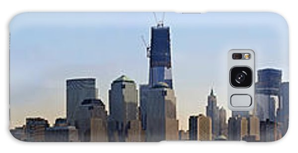 Sweeping Panorama Of New York City Before Sunset Galaxy Case