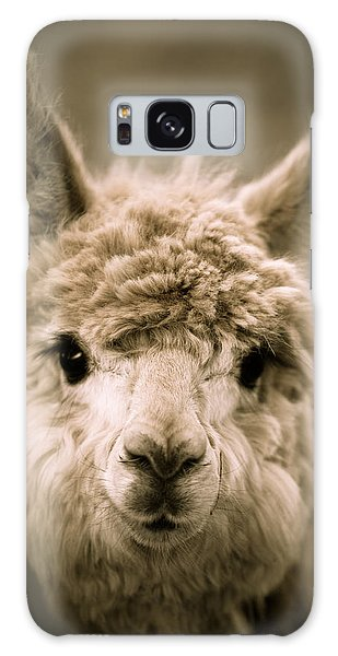 Sweet Alpaca Galaxy Case