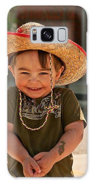 Sweet Boy Cowboy Hat Galaxy Case