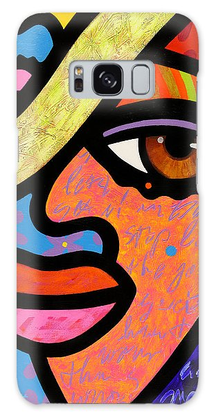 Sweet City Woman Galaxy Case