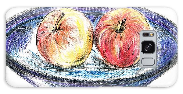 Sweet Crunchy Apples Galaxy Case by Teresa White