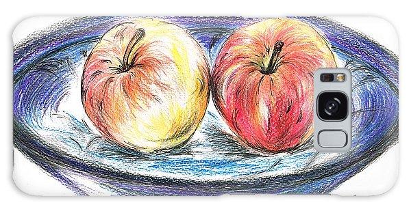 Sweet Crunchy Apples Galaxy Case