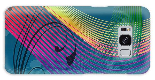 Galaxy Case featuring the digital art Sweet Dreams Abstract by Megan Dirsa-DuBois