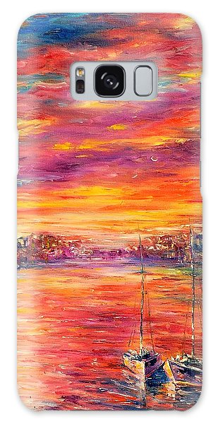 Sweet Dreams Honey Galaxy Case by Helen Kagan