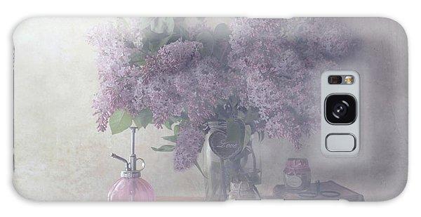 Soft Galaxy Case - Sweet Lilacs by Delphine Devos