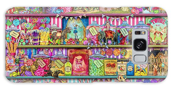 Shelves Galaxy Case - Sweet Shoppe by MGL Meiklejohn Graphics Licensing