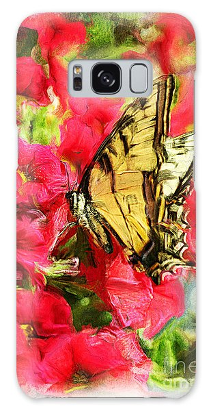 Sweet Swallowtail Galaxy Case