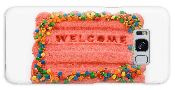 Sweet Welcome Mat Galaxy Case