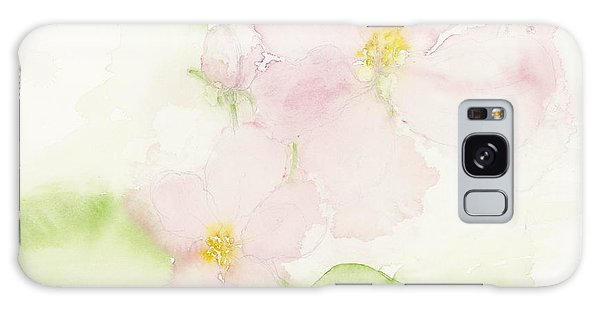 Sweetest Blossoms Of Spring Galaxy Case by Ann Michelle Swadener