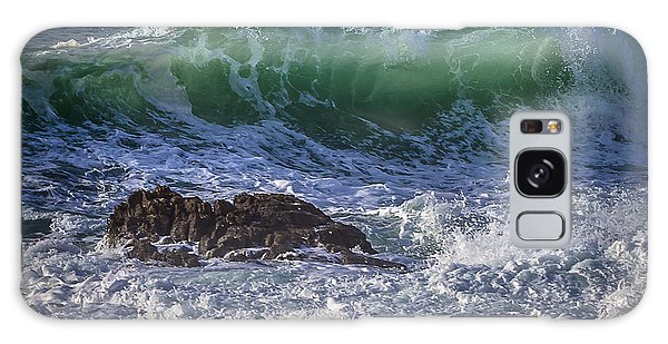 Swells In Doninos Beach Galicia Spain Galaxy Case by Pablo Avanzini