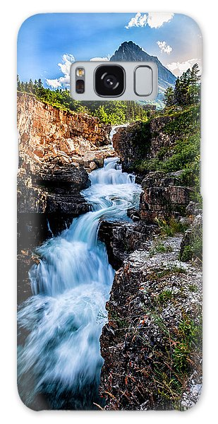 Swiftcurrent Falls Galaxy Case