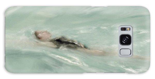Swimmer Galaxy Case by Patricia Strand
