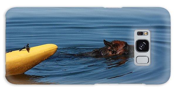 Swimming Anna B Galaxy Case