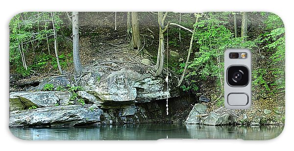 Swimming Hole At Rock Run Galaxy Case