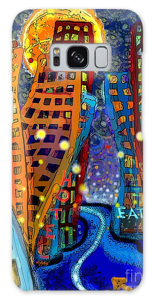 Swing City Galaxy Case by Carol Jacobs