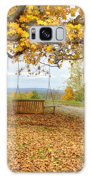 Swing With A View Galaxy Case