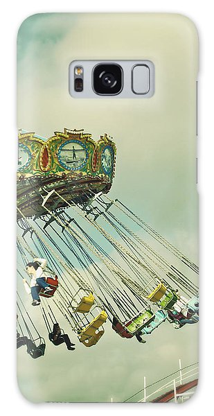 Swingin' - Santa Cruz Boardwalk Galaxy Case
