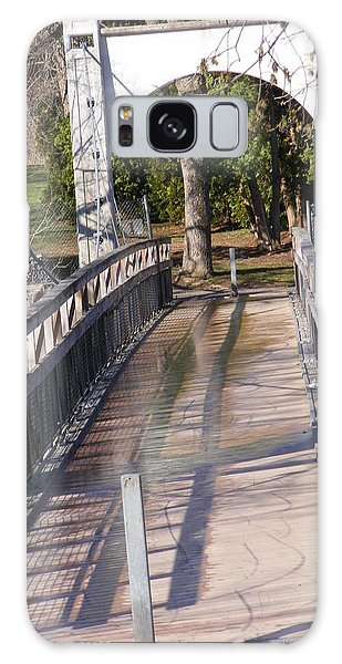 Swinging Bridge Galaxy Case