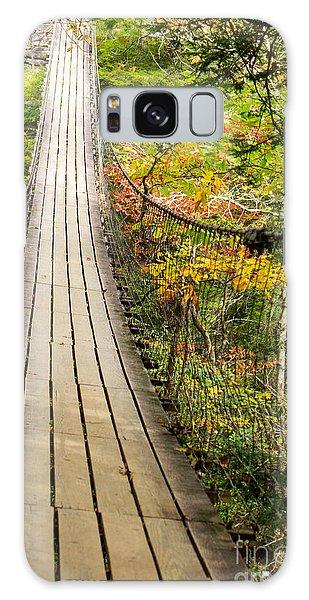 Swinging Bridge Galaxy Case