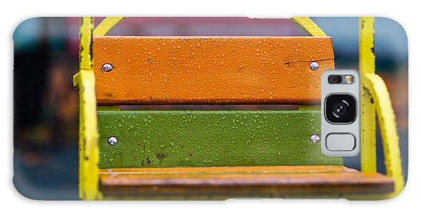 Swinging Rain - Featured 3 Galaxy Case by Alexander Senin