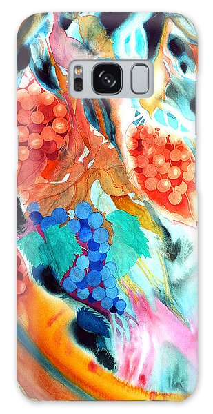 Swirling Grapes Galaxy Case