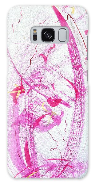 Swirling In Magenta Pink Galaxy Case