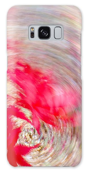 Swirling Japanese Maple Leaves Galaxy Case