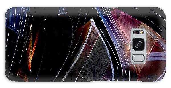 Swirling Shingles Galaxy Case by Holly Blunkall