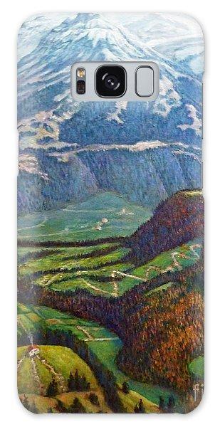 Swiss Alps Galaxy Case