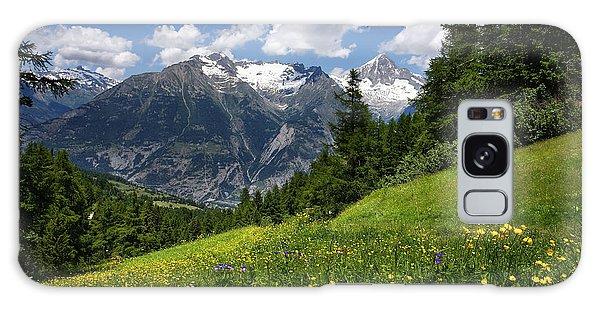 Switzerland Bietschhorn Galaxy Case