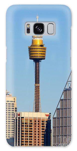 Sydney City Skyline With Sydney Tower Galaxy Case