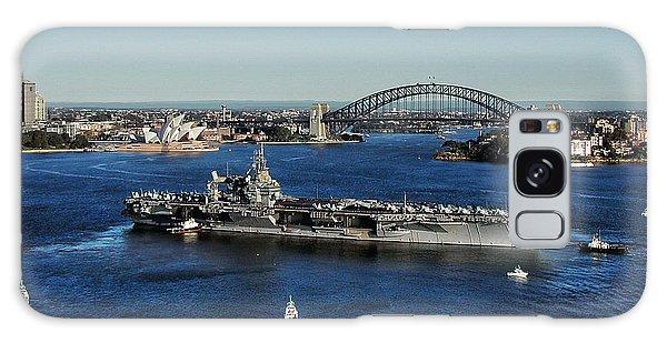 Sydney Harbor Galaxy Case by John Swartz