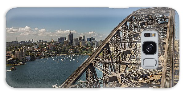 Sydney Harbour Bridge Galaxy Case by Jola Martysz