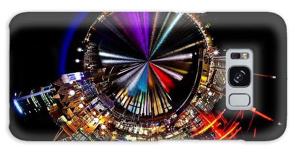 Colours Galaxy Case - Sydney Harbour Skyline 11 Circagraph by Az Jackson